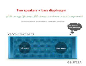 Gymsong Mini Portable Speaker Digital Screen +Wireless Bluetooth+Alarm+APP+NFC Speakers pictures & photos