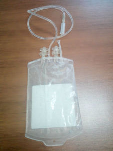 Medical Disposable PVC Blood Bag for Hospital Use pictures & photos