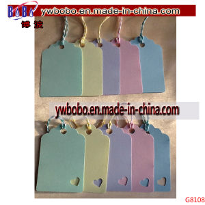 Key Tag Pastel Gift Tags Lables Wedding Name Card (G8108) pictures & photos