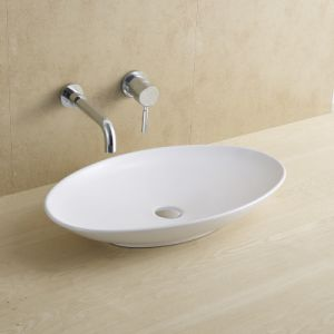 Leaf Form Bathroom Ceramic Basin 8061 pictures & photos