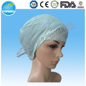 Disposable Medical Doctor Nurse Nonwoven Cap with Ce ISO Certification pictures & photos