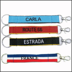Wholesale Small MOQ Fashion OEM Quality Short Lanyard Key Chain pictures & photos