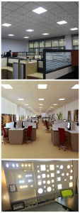 Guangzhou Factory 12W Indoor Lamp Wholesaler Slim LED Ceiling Lighting Panel Light pictures & photos
