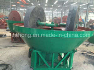 Double Wheel Dressing Machine, Wet Pan Mill for Grinding Gold pictures & photos