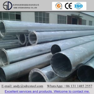 Scaffolding Building Material Hot-DIP Galvanized Steel Pipe pictures & photos