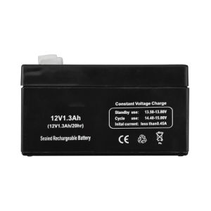 12V 1.3ah Rechargeable Lead Acid Battery for Electronic Scale, Vender pictures & photos