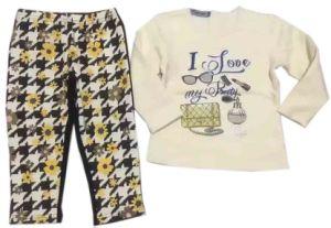 Flower Baby Clothes in Children Kids Wear Sq-17109