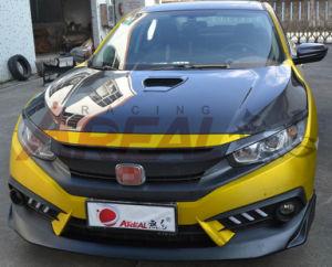 Fon Honda Civic X 2016 Carbon Fiber Hood Type R pictures & photos