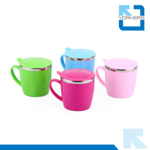 Wholesale Colourful Leak Proof Stainless Steel Metal Drink Cup for Children pictures & photos
