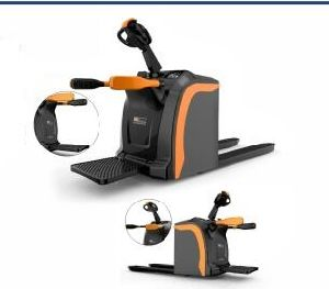 New 2t Semi-Electric Pallet Truck with High Quality pictures & photos