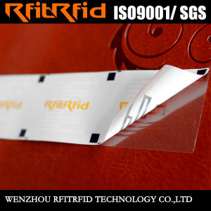 UHF Passive Anti-Tearing Glossy Paper RFID Tag pictures & photos