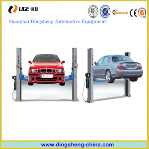 Cheap 2 Post Car Lift Maunal and Electric Lock Release for Sale pictures & photos