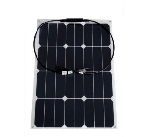 30W 12V Monocrystalline Silicon Flexible Solar Panel pictures & photos