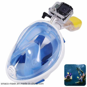 Full Face 180 Degree Snorkel Mask with Gopro Mount pictures & photos
