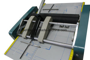 Zy1 paper folding machine/booking binding machine pictures & photos