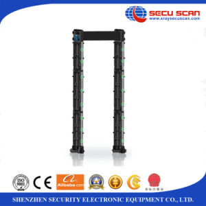 Portable walk through metal detector AT-300P door frame metal detector for outdoor use pictures & photos