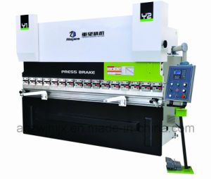 Wc67k 400t/4000 Torsion Axis Servo CNC Press Brake pictures & photos