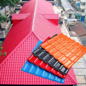 50 Years Life Span Resin Roof Sheet