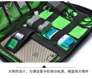 Electronics Accessories Bag, Folding Travel Organizer Case Storage Carry Case for Cables, Earphones, Portable Hard Drives, Power Banks, Adapters or Came pictures & photos