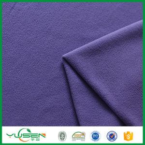 Breathable Fir Retardant 100% Polyester Plain Super Soft Polar Fleece for Ladies Jacket pictures & photos