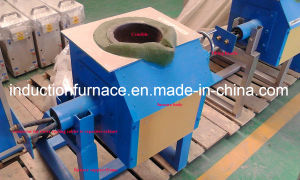 2017 Sale Price Induction Metal Melting Furnace for Steel Scrap 500kg pictures & photos