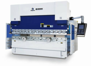 We67k 250t/3200 Dual Servo Electro-Hydraulic CNC Press Brake pictures & photos