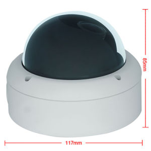 720p Motorized Zoom Vandal-Proof Dome IP Security CCTV Camera pictures & photos