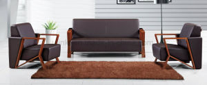 Italy Design Sofa Commercial Furniture Genuine Leather Sofa (HX-CF006) pictures & photos