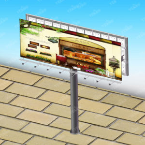 Hot Selling Outdoor Firm Steel Structure Furniture Popular Highway Advertising Display Column Billboard pictures & photos
