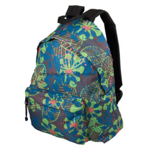 All-Over Printed Ladies Fashion Daily Travel Backpack pictures & photos