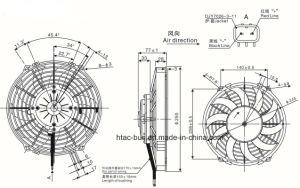 Auto Air Conditioner Fan Motor Spal Va07-Bp12/C 58A pictures & photos