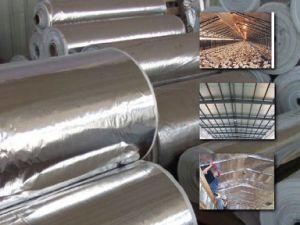 Aluminum Foil Fiberglass Cloth / Glass Fibre Fabric pictures & photos