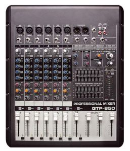 6-Channel High-Quality Analog with Amplifier Audio Mixer (GTP-650) pictures & photos