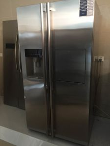 Bcd-550whit Refrigerator with Ss Looking Color pictures & photos