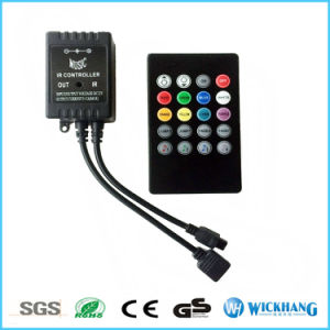 20 Key IR RF Remote Controller Kit for 3528 5050 RGB LED Light Touch Music pictures & photos