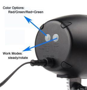 UL FDA IP65 High Clear Christmas Laser Light Oak Barrel Fashion Red Green Star Dots Sky Laser Light pictures & photos
