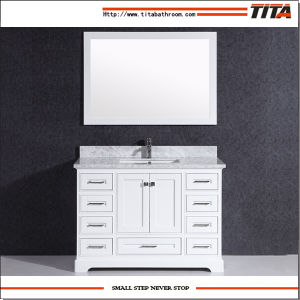 Solid Wood Bathroom Vanity Cabinet T9311-36W pictures & photos