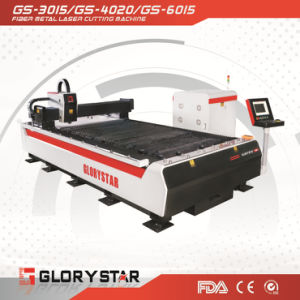 500W 1000W 2000W Fiber Laser Cutting Machine for Metal Sheet pictures & photos