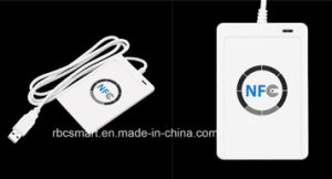 Wholesale USB ACR122u NFC RFID for Iot 13.56MHz RFID Smart ID Card Reader Writer for (ISO/IEC18092) Tags