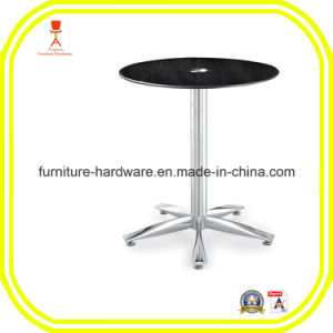Furniture Hardware Parts Restaurant 5 Star Table Base Leg Aluminum pictures & photos