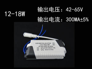LED Constant Current Driver 35-65V 12-18W 300mA pictures & photos