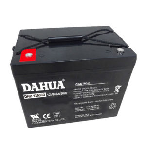 12V 90ah Deep Cycle Solar Battery for Solar Systems pictures & photos