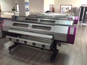 Galaxy Ud-3212ld Large Format Eco Solvent 1440pi Inkjet Printer with 2 Dx5 Heads Digital Print Machine pictures & photos