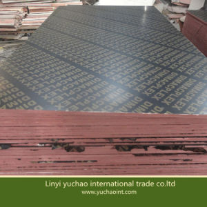 Building Material Chinese Cheap Film Faced Plywood with Logo pictures & photos