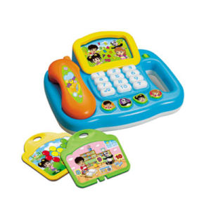 Kids Intelligence Toy Telephone Learning Machine (H0622101) pictures & photos