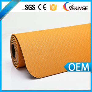 High Quality Fitness Yoga Mat 6mm for Catering Markets pictures & photos