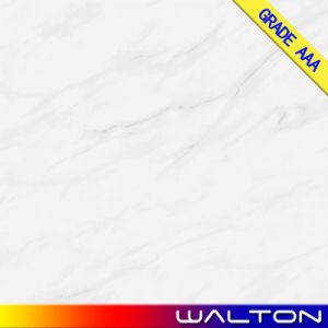 600X600 Carrara White Glaze Tile Porcelain Floor Tile (WT-CA01FP) pictures & photos