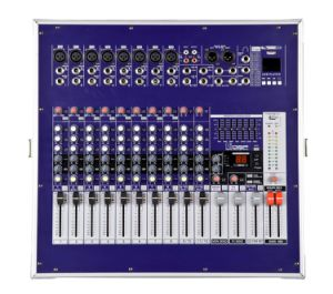 650W Professional Power Mixer with Amplifier 8 Channels pictures & photos