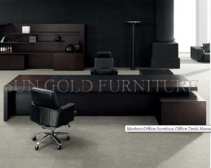 Modern Office Furntirue Office Desk Manager CEO Desk (SZ-ODL307) pictures & photos