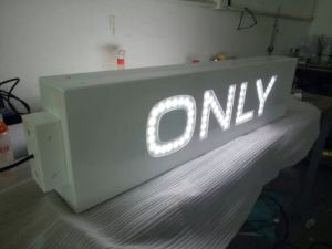 Shop Business Double Sides Acrylic Display Advertising LED Light Box pictures & photos